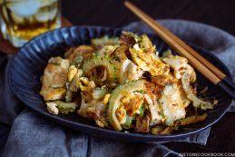 Goya Champuru ゴーヤチャンプル | Easy Japanese Recipes at JustOneCookbook.com