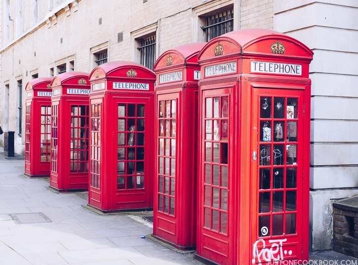 London Red Phone Booth