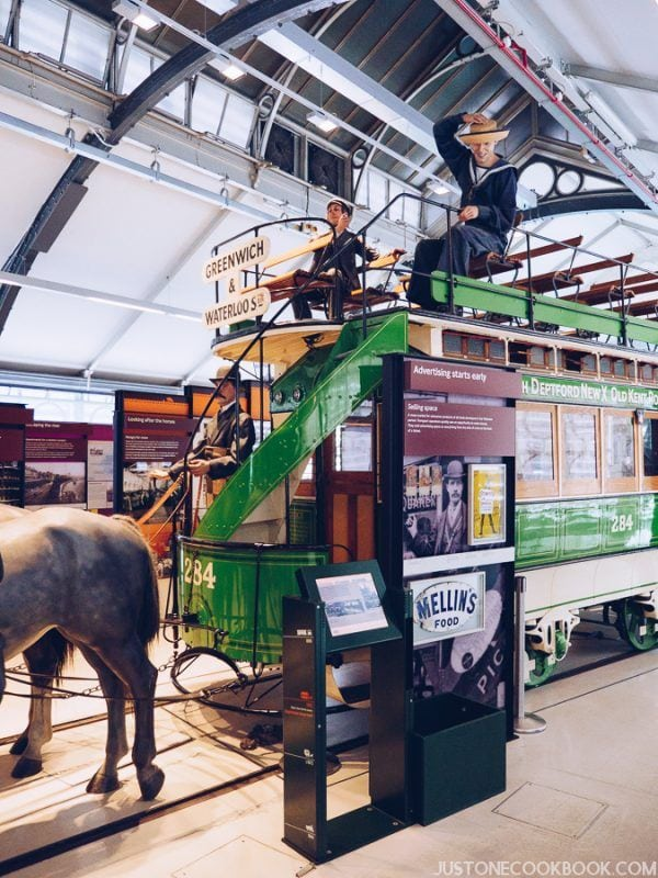 London Travel Guide - London Transport Museum | JustOneCookbook.com