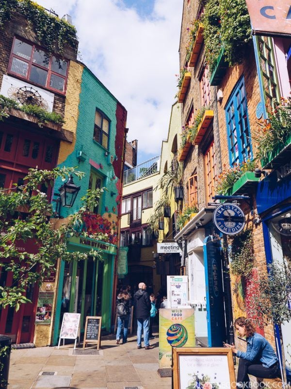London Travel Guide - Neal's Yard | JustOneCookbook.com