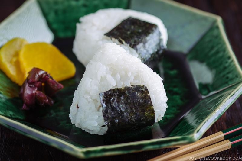 Onigiri Japanese Rice Balls おにぎり Just One Cookbook