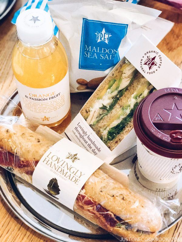 London Travel Guide - Pret A Manger | JustOneCookbook.com