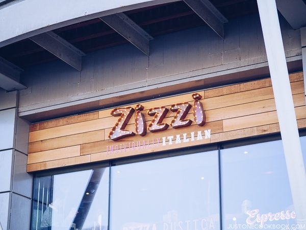 London Travel Guide - Zizzi | JustOneCookbook.com