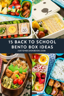 bento box recipes and ideas