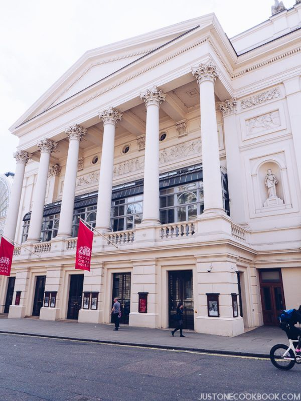 London Travel Guide - Royal Opera House | JustOneCookbook.com