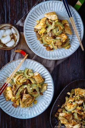 Goya Champuru | Easy Japanese Recipes at JustOneCookbook.com