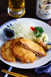 Ham Katsu ハムカツ | Easy Japanese Recipes at JustOneCookbook.com