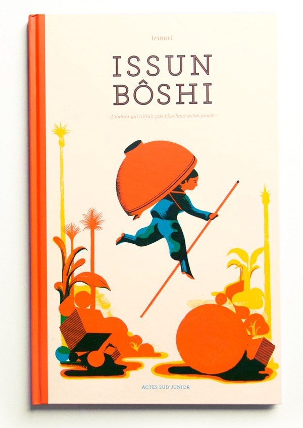 Issun Boshi Japanese classic folktale book