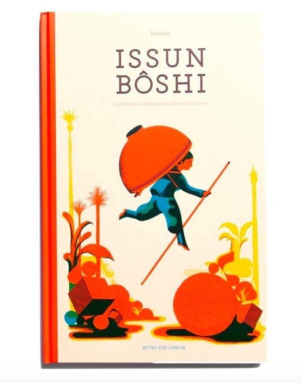 Japanese children folktale book Issun Boshi The One Inch Boy