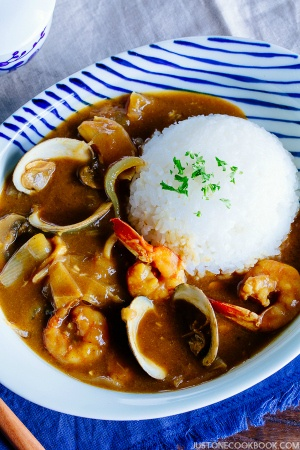 Pressure Cooker Seafood Curry | Easy Japanese Recipes at JustOneCookbook.com
