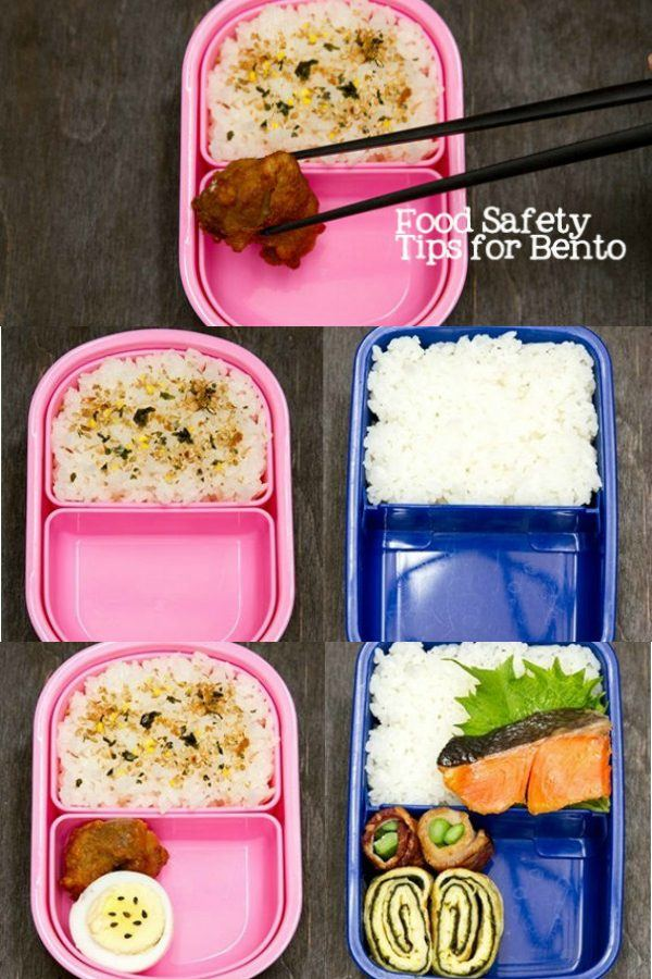 food safety tips for packing bento boxes | Just One Cookbook
