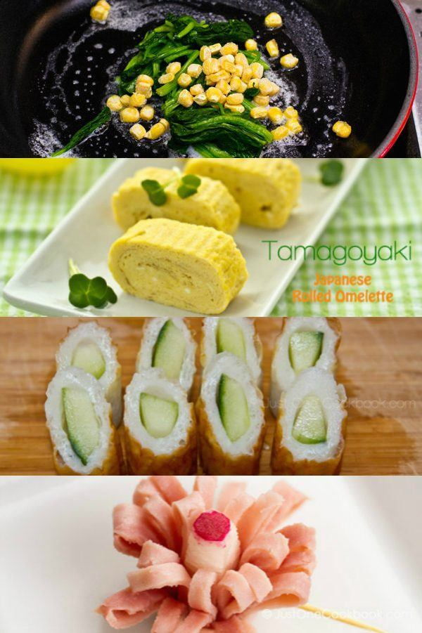 side dishes for bento box ideas