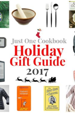 2017 Holiday Gift Guide | Easy Japanese Recipes at JustOneCookbook.com