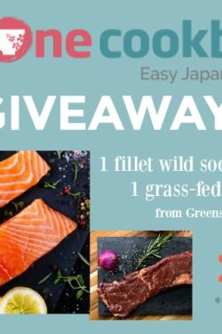 Greensbury Market organic skirt steak & wild salmon giveaway