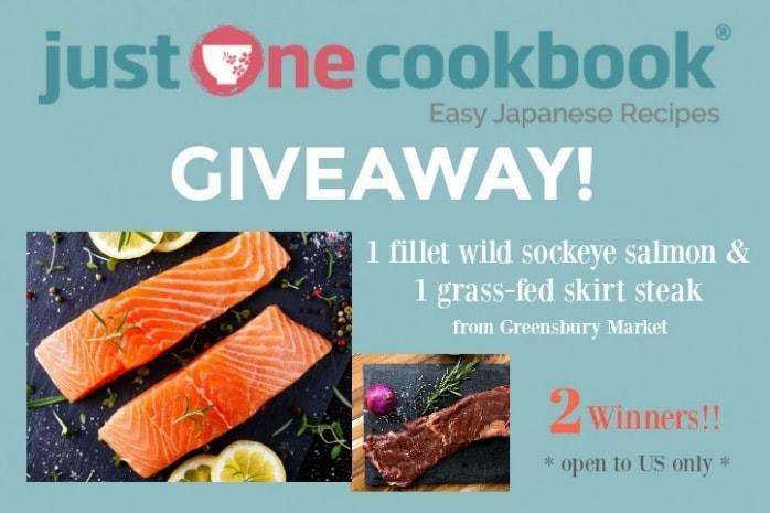 Greensbury Market organic skirt steak & wild salmon giveaway