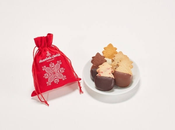 honolulu cookie company mele mini santa bag cookies giveaway on JustOneCookbook.com