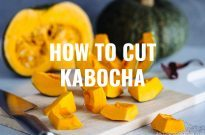 How to Cut a Kabocha Squash (Japanese Pumpkin)
