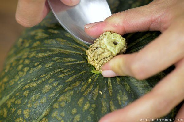 How to Cut a Kabocha Squash 12