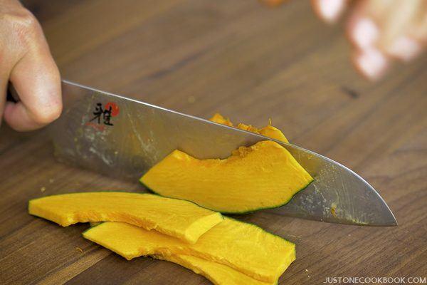 How to Cut a Kabocha Squash 7