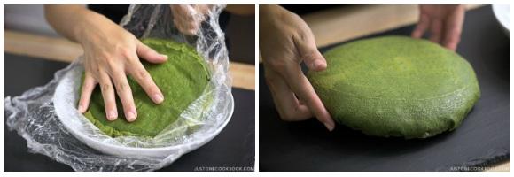 Matcha Mille Crepe Cake 21