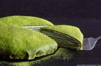 Matcha Mille Crepe Cake 抹茶ミルクレープケーキ
