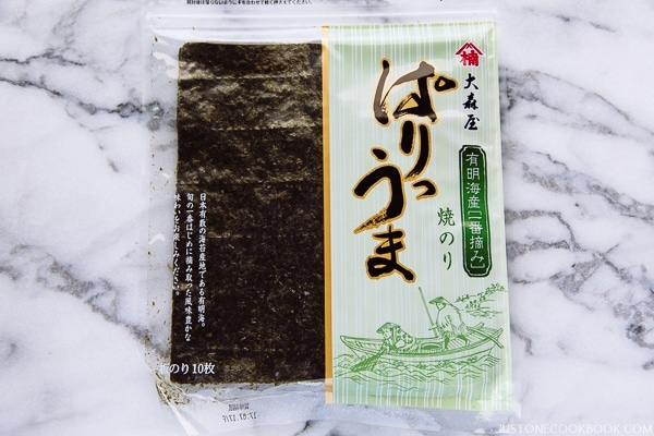Nori 海苔 Seaweed | Pantry | Easy Japanese Recipes at JustOneCookbook.com