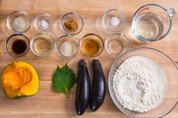 Oyaki Ingredients