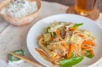 Stir Fry Vegetables (Yasai Itame) 野菜炒め