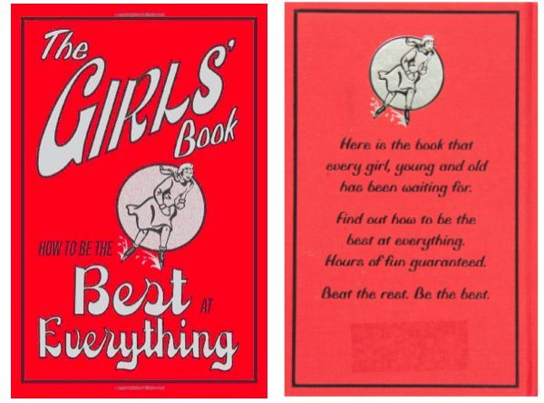 The Girls' Book: How to Be the Best at Everything gift guide for kids on JustOneCookbook.com