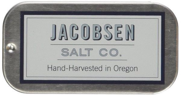 Jaconsen Salt - Hand Harvested Pure Flake Sea Salt Slide Tin gift guide on JustOneCookbook.com