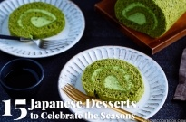 15 Japanese Desserts to Celebrate the Seasons