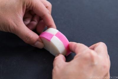 Decorative Kamaboko Cutting - Ichimatsu 4