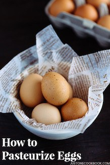 learn how to pasteurize eggs at home