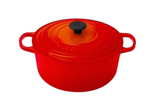 Le Creuset Signature Enameled Cast-Iron 7-1:4-Quart Round Cast-Iron gift guide on JustOneCookbook.com