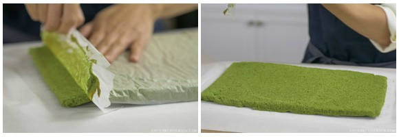 Matcha Swiss Roll 17