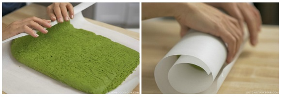 Matcha Swiss Roll 21
