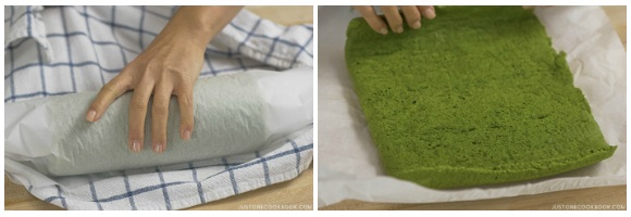 Matcha Swiss Roll 25