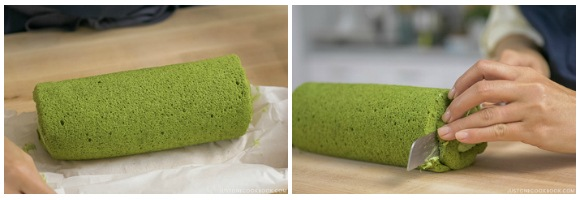 Matcha Swiss Roll 28
