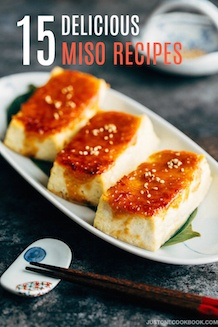 Miso recipes | Easy Japanese Recipes at JustOneCookbook.com