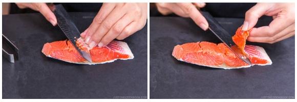 Salmon Kombu Roll 5