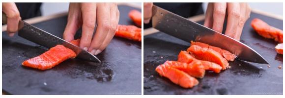 Salmon Kombu Roll 7