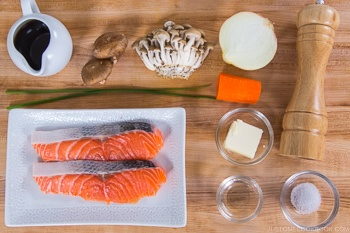 Salmon in Foil Ingredients