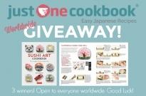 Sushi Art Cookbook Giveaway (Worldwide) (Closed)