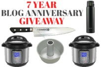 7 Year Blog Anniversary Giveaway & Thank You