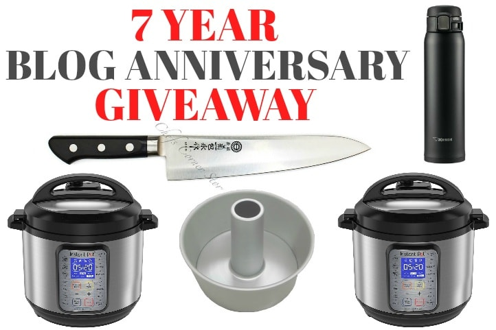 987cc00970a 7 Year Blog Anniversary Giveaway & Thank You • Just One Cookbook