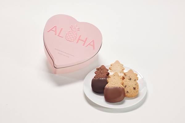 Aloha Heart Tin cookies Honolulu Cookies Company giveaway on JustOneCookbook.com