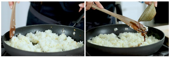 Japanese Garlic Fried Rice ガーリックライス • Just One Cookbook