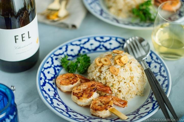 Japanese Garlic Fried Rice ガーリックライス • Just One Cookbook