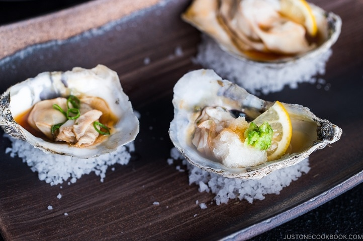 Grilled Oysters With Ponzu Sauce 牡蠣のポン酢焼き Just One Cookbook