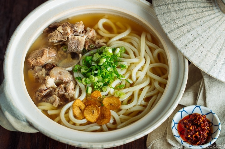 Oxtail Udon テールスープうどん Just One Cookbook